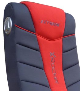The X Rocker 51491 Extreme III 2.0 Gaming Chair back rest