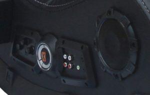 X Rocker 51259 Pro H3 4.1 Audio Wireless Gaming Chair Headphones Jack