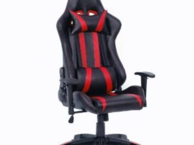 Giantex Executive Racing Style High Back Reclining Chair Gaming Chair Office Computer (Black+R