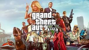 GTA console game