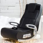 X Video Rocker Console Gaming Chair With  Wireless Video