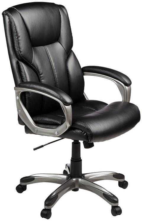 The Amazon Basics High Back Executive Chair