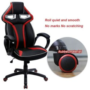 Furmax Pu Leather PC Gaming Chair Robot's Eye Wheel Base