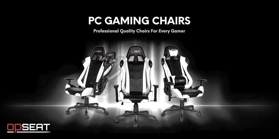 OPSEAT Master Series PC Gaming Chair Racing Seat banner