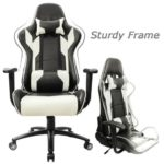 Homall Executive Swivel Leather Gaming Chair Rocking
